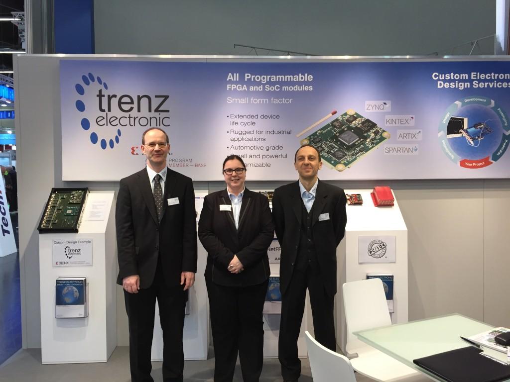 Trenz team in Embedded World 2015