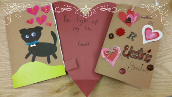 Learn how to make your own paper circuit Valentine's Day card here!