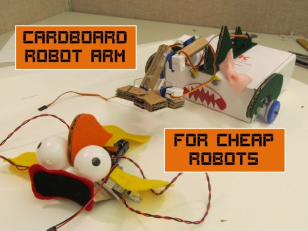 Build a Robot with Household items: For Cheap Robots Series