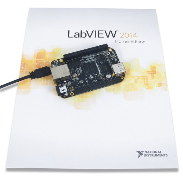 Beaglebone black and LabVIEW
