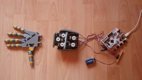 DIY robotic hand