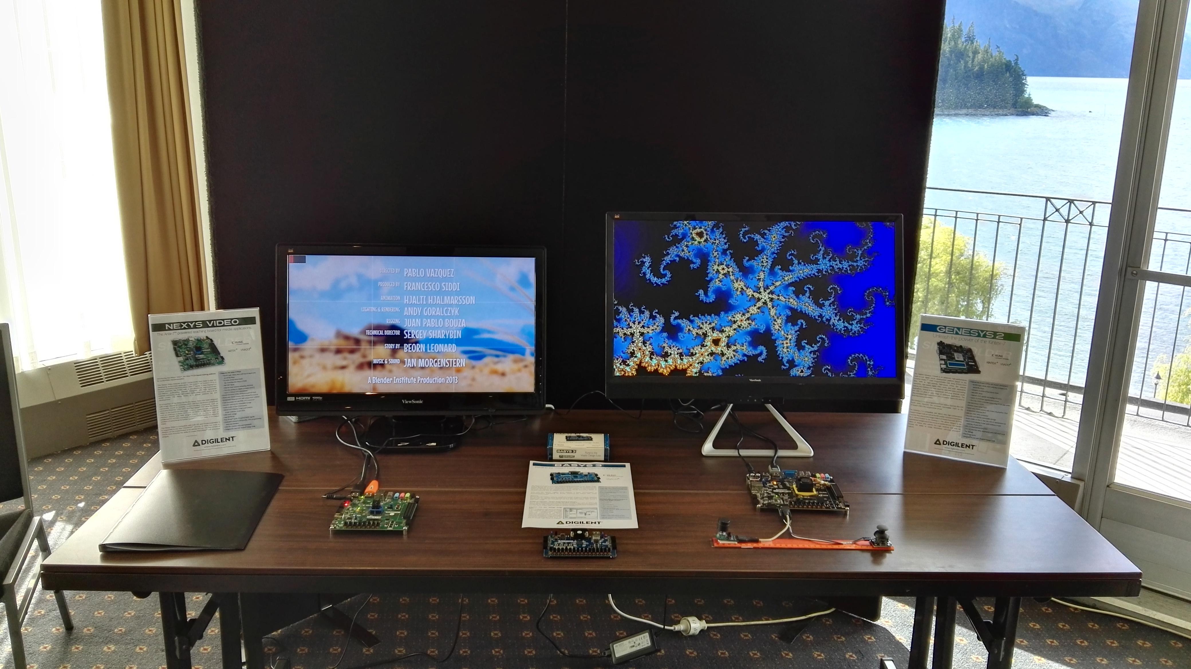 Digilent High Definition Video Platform: Showcased in ...