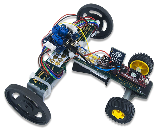 The essence of DIY fun: the Pmod Racing Ruler.