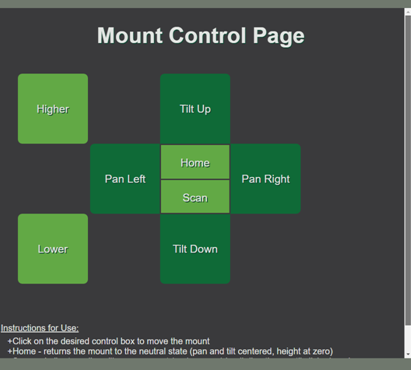 control page