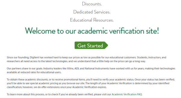 Verify yourself to be academically involved here.