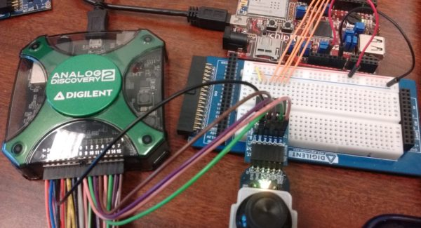 Connecting the Logic Analyzer for the Analog Discovery 2