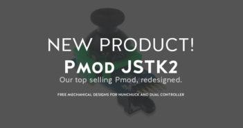 Joystick Pmod with free 3D printed controller