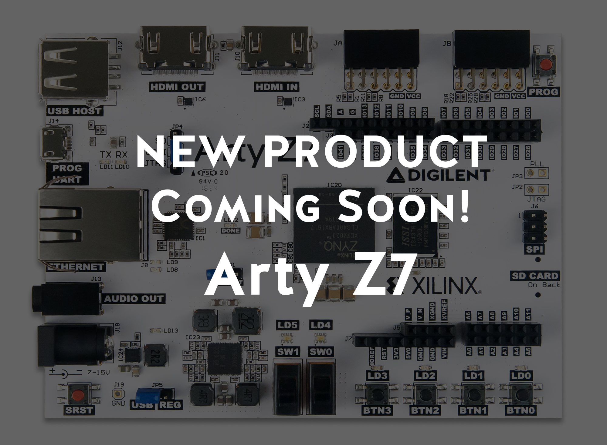 Zynq for Makers- Introducing the Arty Z7 – Digilent Inc  Blog