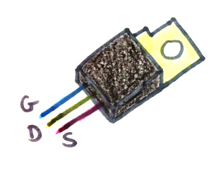 mosfet-drawing-with-white-background