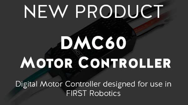 Cheap First robotics motor controller