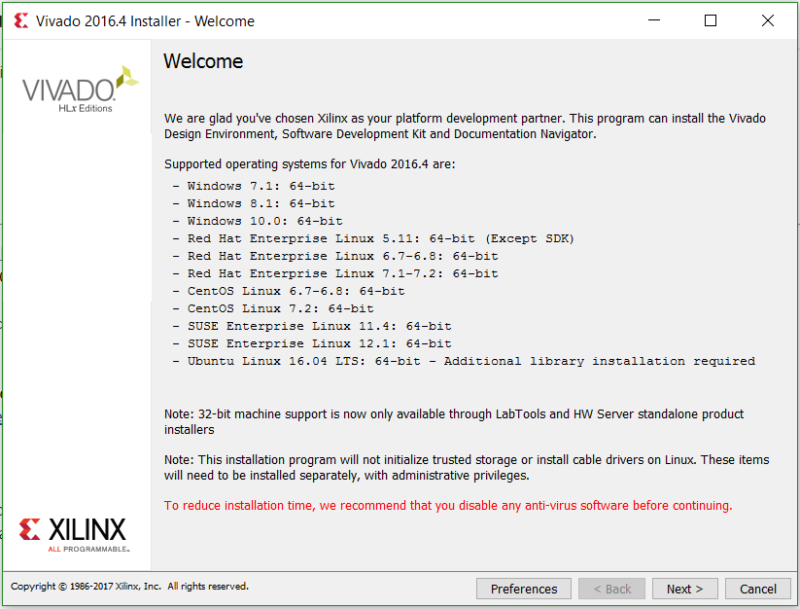 xilinx download manager
