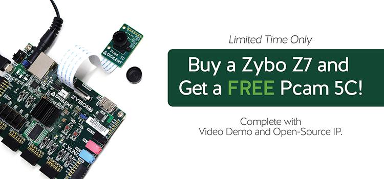 Embedded Vision Bundle and Sale – Last Day! – Digilent Inc  Blog