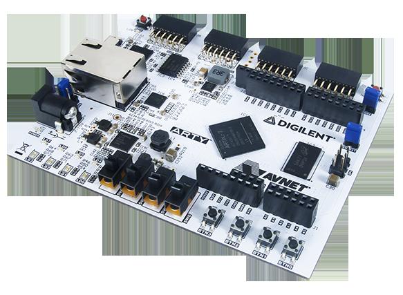 Picture of Digilent Basys 3 FPGA Board