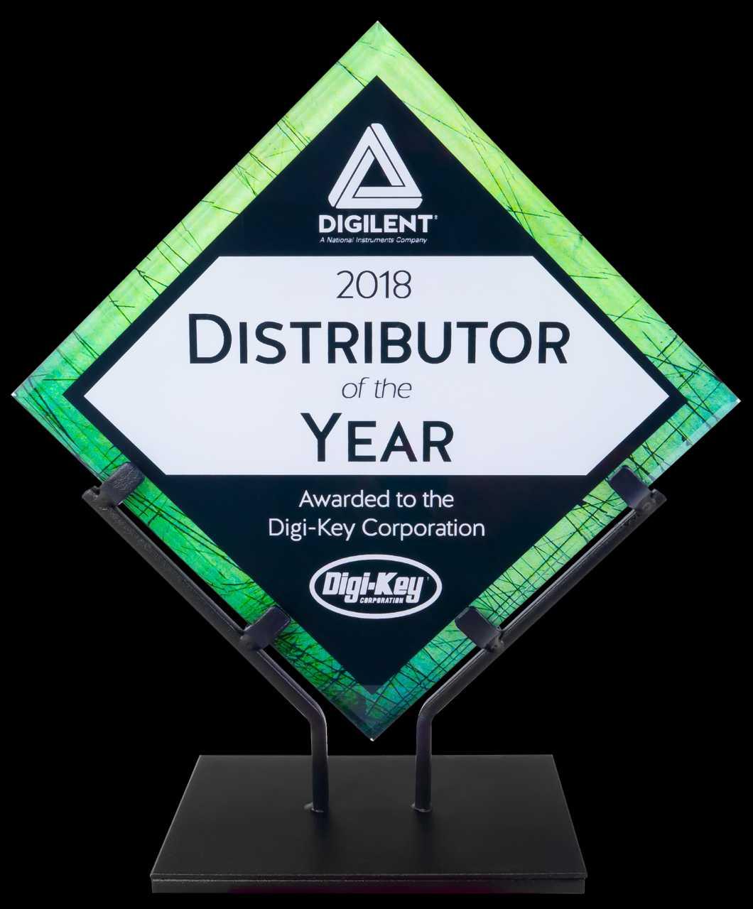 Distributor of the Year Award – Digilent Inc  Blog