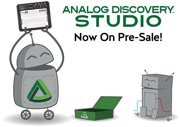 Analog Discovery Studio is Now Available for Pre-sale