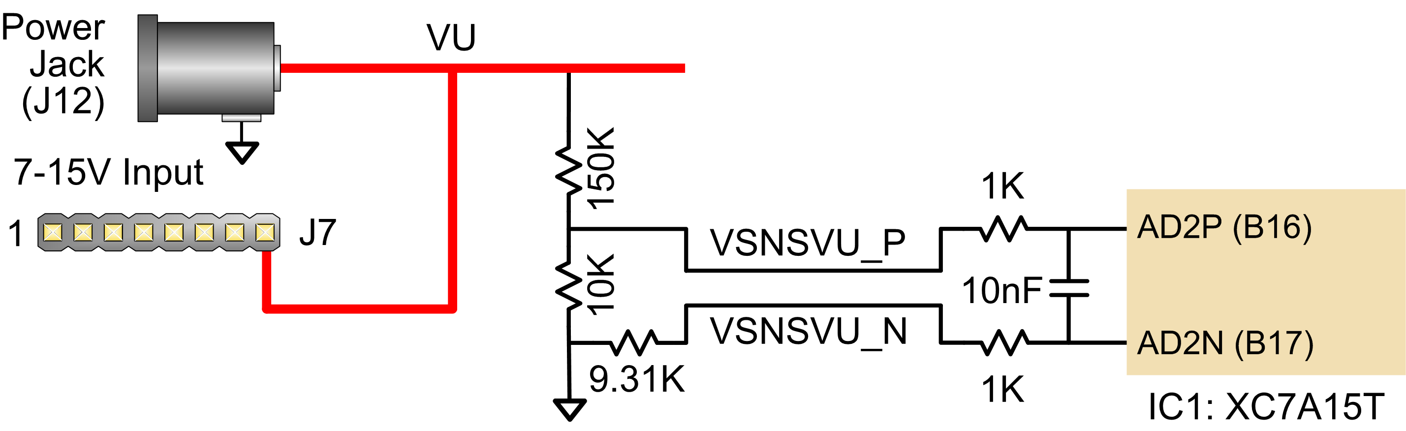 Figure 3.1.1. Monitoring external voltage supply.