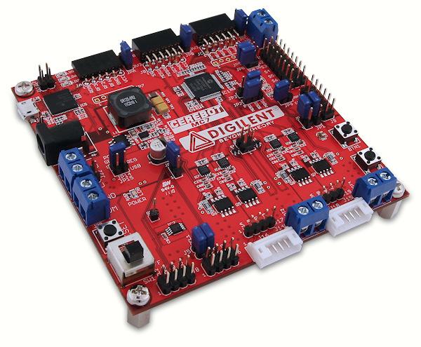 The Cerebot MC7 board.