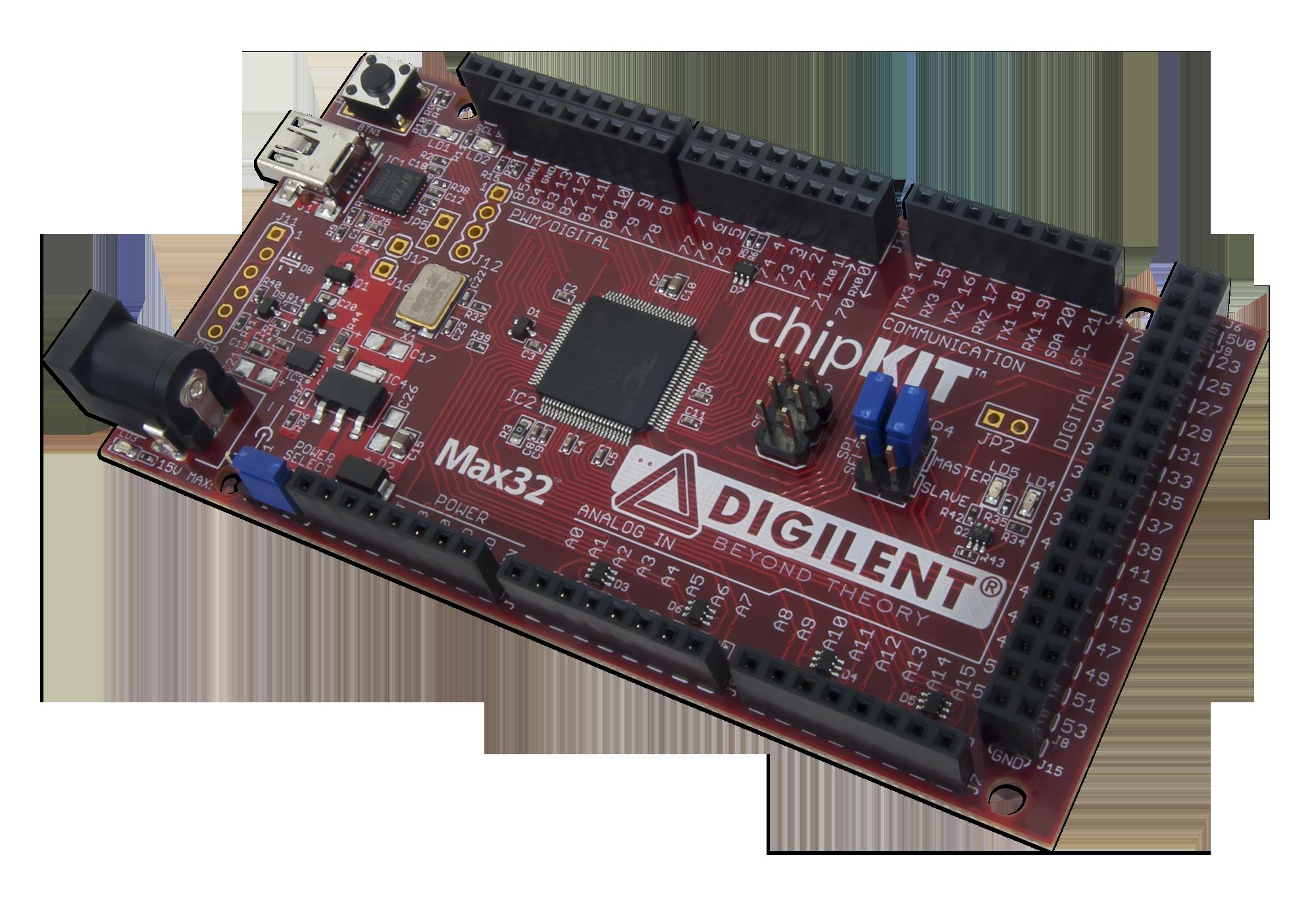 chipKIT™ Max32™ [Reference.Digilentinc] on
