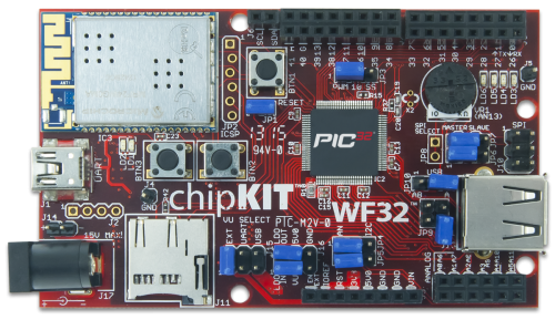 chipKIT™ WF32™ Board Reference Manual [Reference Digilentinc]