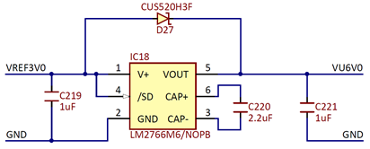 Figure 6. VU6V0 supply.