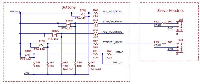 Figure A.1 Push button schematic diagram.