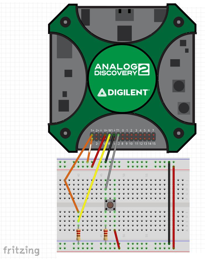 Fritzing circuit