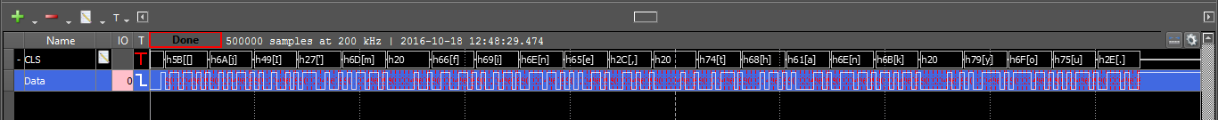 Figure 196. Example plot, zooming in on recording.