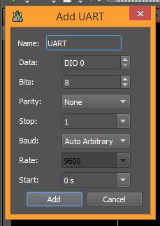 Figure 179. UART protocol interpreter.