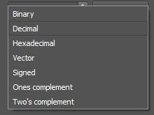 Figure 76. Format options.