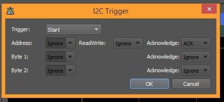 Figure 111. I2C trigger wizard.