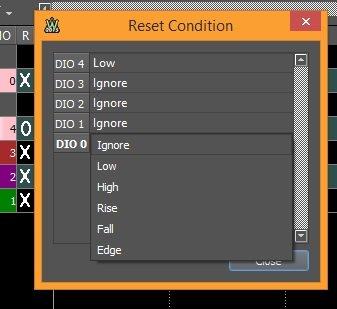 Figure 24. Reset condition.