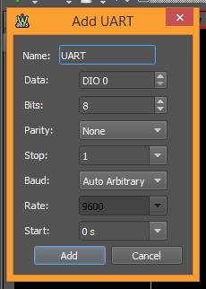 Figure 119. Add UART.