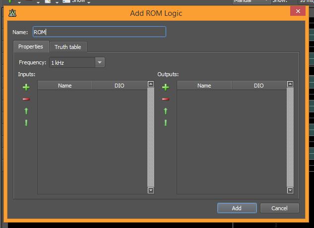 Figure 28. Add ROM Logic.