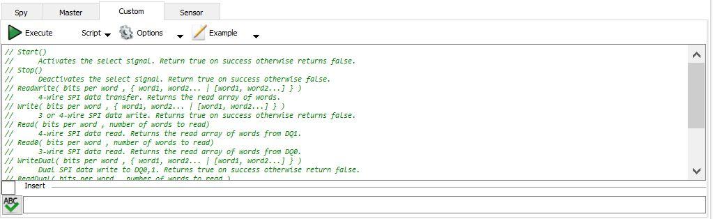 Figure 14. Custom tab.