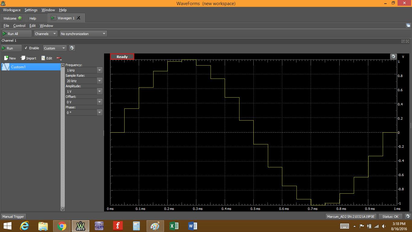 Figure 59. Viewing actual plot output.