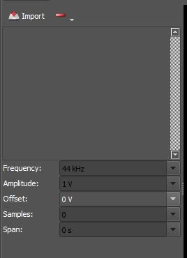 Figure 75. Control options.