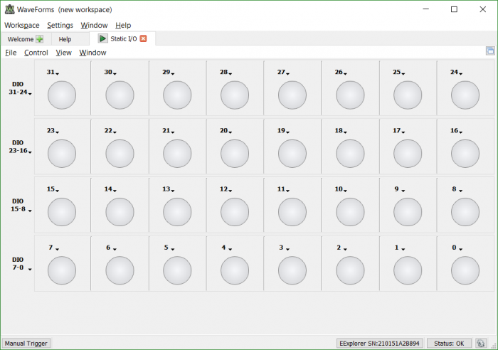 Digital Pattern Generator : Electronics explorer intro to the static i o and digital