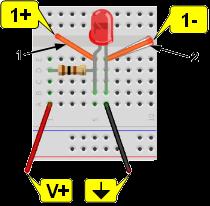 Voltage measurement connections