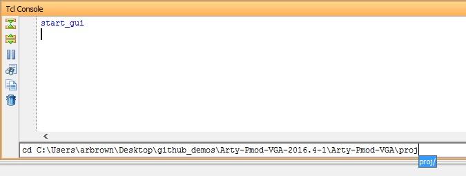 Using Digilent Github Demo Projects [Reference Digilentinc]