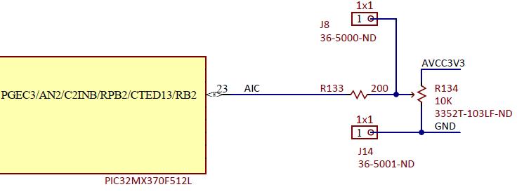 Figure 19.1. Analog input control schematic diagram.