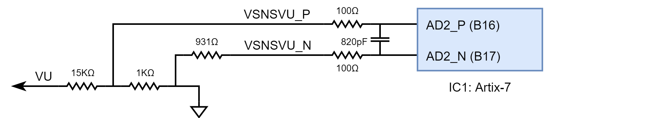 Figure 3.1.1 Monitoring External Supply Voltage