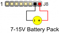 Figure 1.2. Battery pack connection.