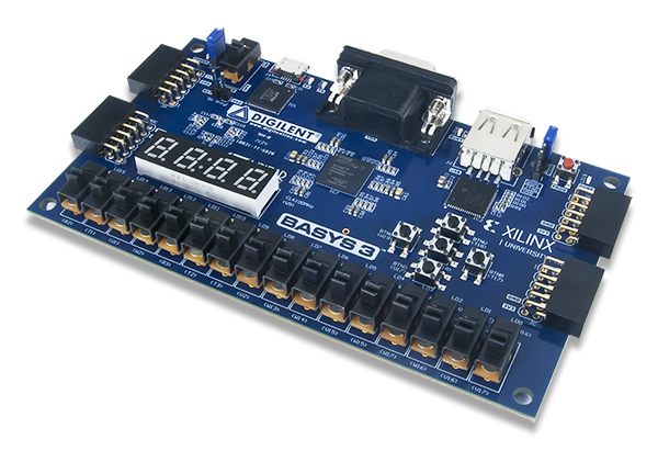 FPGA Essentials: Basys 3 Artix-7 FPGA - Review | element14