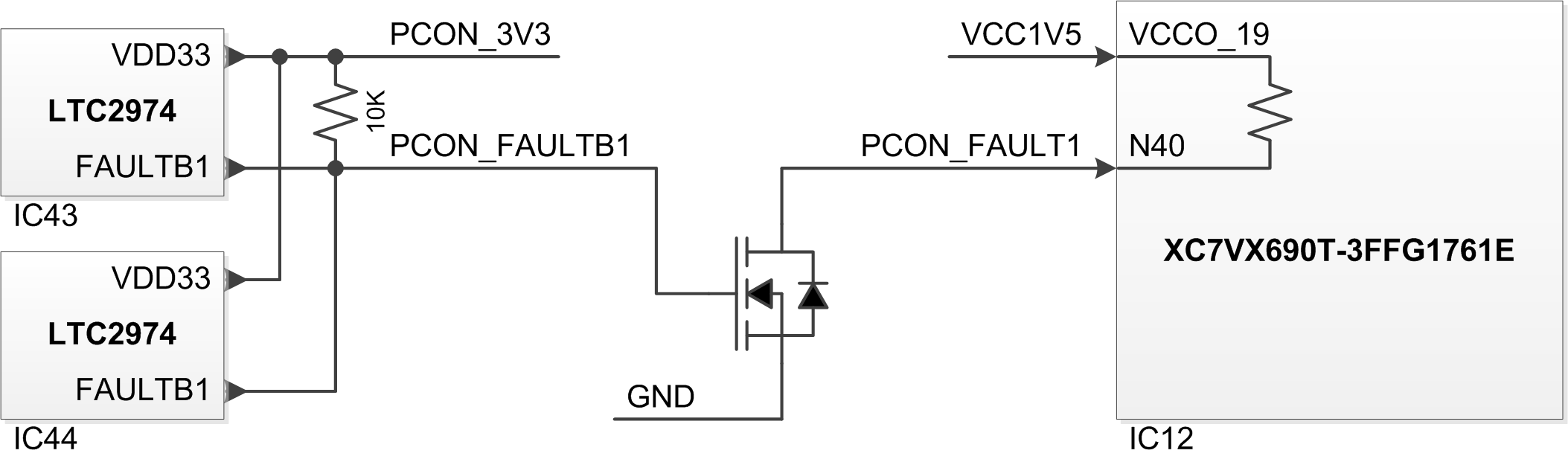 Netfpga Sume Reference Manual Referencedigilentinc Virtex 7 Block Diagram Faultb1 Interrupt Source